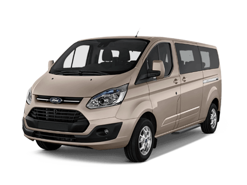 alquiler 9 plazas furgoneta Menorca